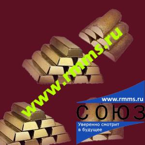Чушка латунная ЛС59, ЛСд, ЛК 80-3-3, ЛК-1, ЛМцС, ЛМцЖ по ГОСТ 1020-77
